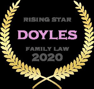 Doyles Family Law - Rising Star - 2020
